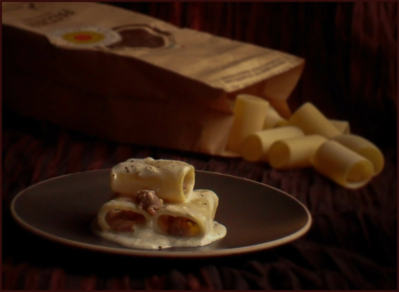 Armando a norcia paccheri alla norcina cucina semplicemente - La cucina di monica ...