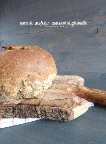 Pane di segale con semi di girasole - Cucina Semplicemente - Origine foto: www.diversamentelatte.it