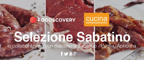 Selezione Sabatino - Cucina Semplicemente - Foodscovery